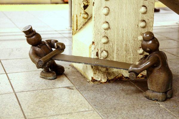 看纽约雷人有趣的艺术雕塑