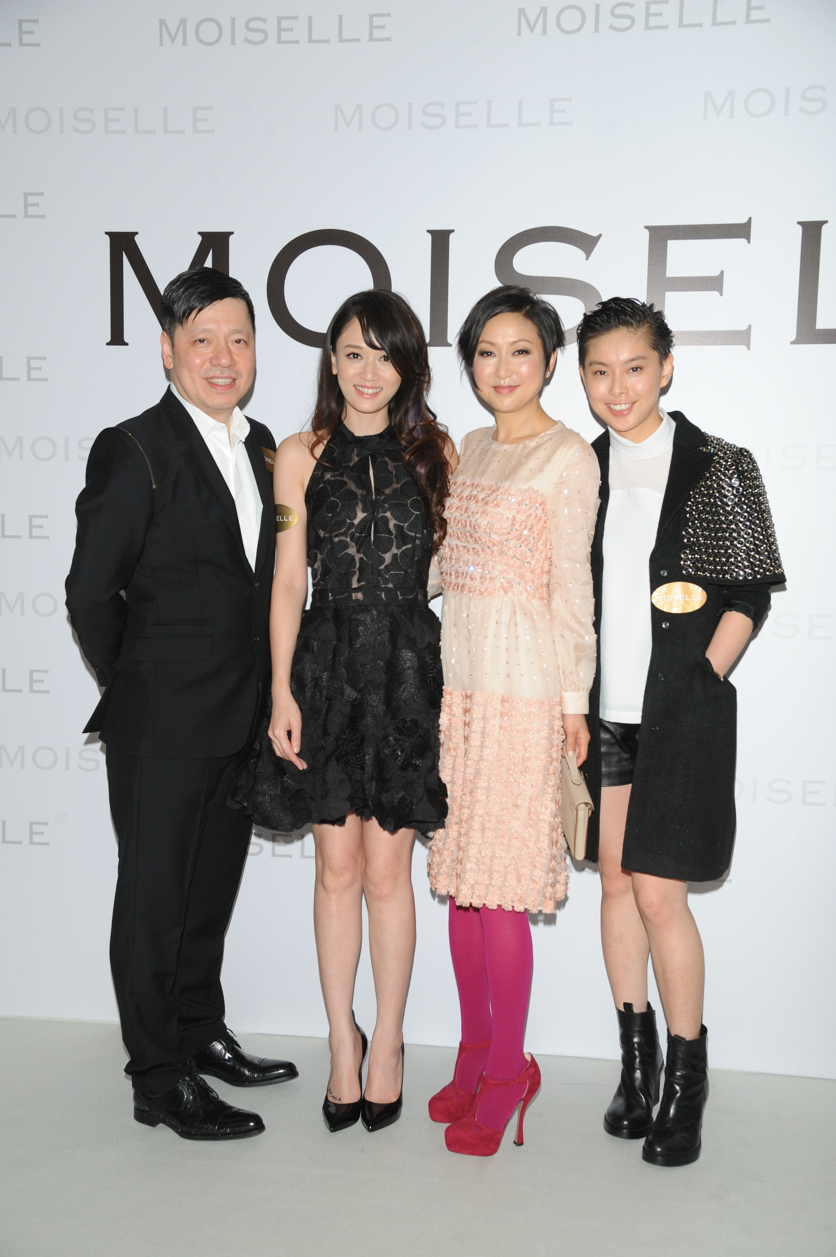陈乔恩、陈法拉助阵MOISELLE2013年的美女秋冬管梓君图片