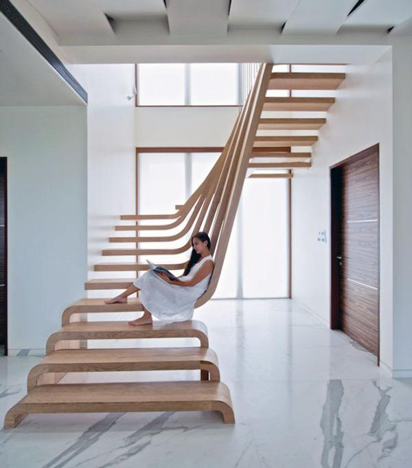 创意阁楼楼梯设计 走在创意里图片