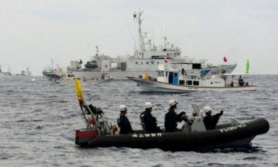 日称中国海监与渔政在钓鱼岛驱离大量日右翼分子 - 高山松 - gaoshansong.good 的博客