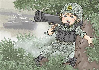 """无坐力炮演习中爬树上击毁两坦克 自己""""牺牲"""""""
