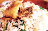 朱村丝苗米鸡饭