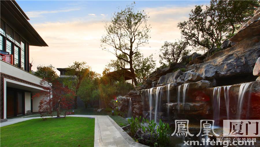 中式别墅别墅_中式独栋庭院联排别墅上海房的养成本图片
