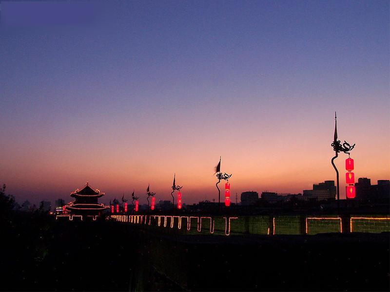西安碑林区 写满了中华文明史