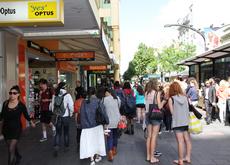 蓝道购物广场(Rundle Mall)