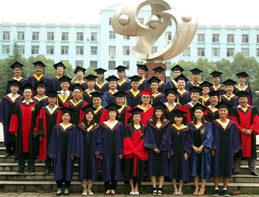武大老校长刘经南和学生