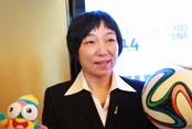 前女足队长孙雯:青奥的体验将让青少年受益