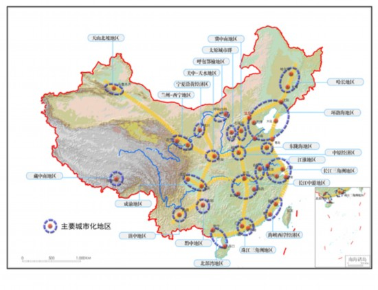 我国水资源和耕地资源结构示意图