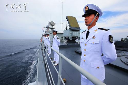 俄海军眼中的中国海军:素质过硬 装备精良(图)