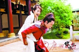 冯绍峰和林依晨在 兰陵王 中