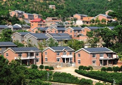 村庄规划及分布,房屋结构