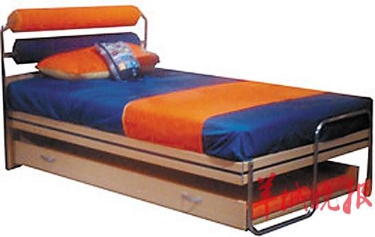 欧式组装床的安装图解