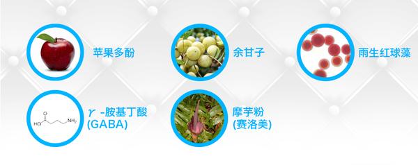 爱碧丽胶原蛋白饮品(贵妃荔枝味)成分大起底 苹果多酚:苹果多酚指的不是一种单一物质,而是苹果中的多种苯酚的概称。总体来讲苹果多酚都有抗氧化的功效,也就是说可以减低体内活性氧水平,降低炎症的影响。但不同种类的苹果中内含的多酚抗氧化效能存在较大差异,比如说体积比兵乓球还小的尼泊尔苹果中的多酚就比富士苹果中的多酚总量大、种类多。苹果多酚的医疗效果很难评估,目前还没有特别服众的方法可以量化评估口服苹果多酚的抗老作用。 虾青素(雨生红球藻):虾青素也是一种强效抗氧化剂。一项让不孕男性连续三个月每天服用16mg虾