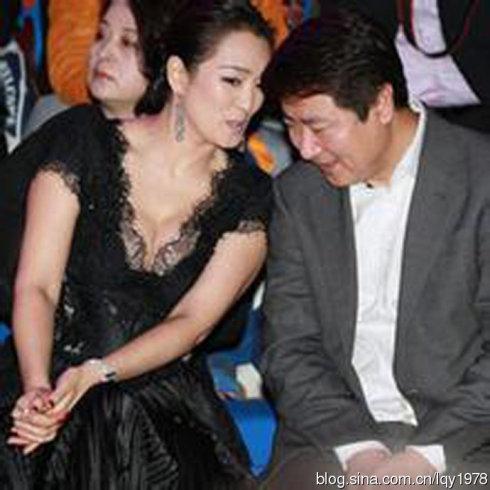 为何某些男人总是盯着巩俐阿姨的胸不放?(图 - 旭在东北 - 旭在东北原创音画博客(*^_^*)