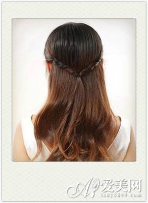 优雅高贵公主头 发饰点缀更抢眼|发型|头发