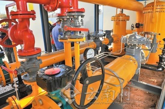 煤气水封内部结构