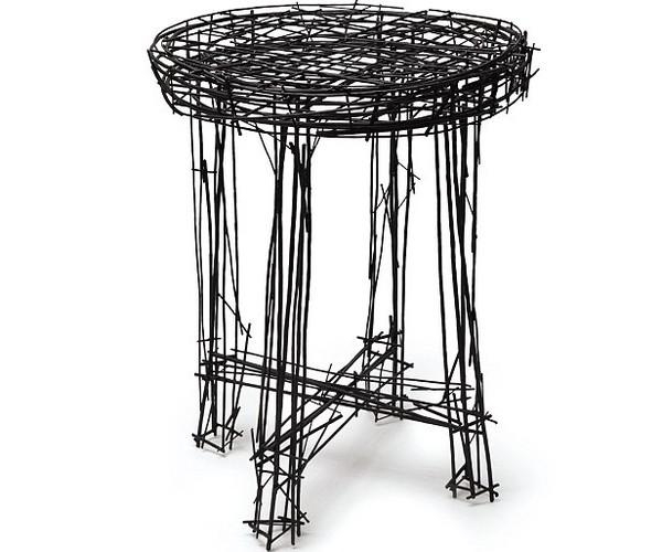 韩国设计师用家具绘制相机钢丝看似平面涂鸦ps素描打造图片