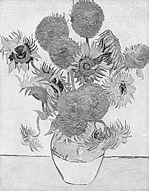 梵高向日葵的赤诚