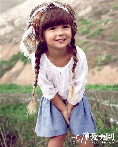 百变儿童发型pk 俏皮可爱变萌妹子 发型 头发