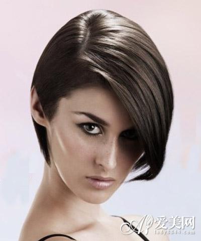 长脸mm个性短发 演绎欧美明星范|发型|短发_凤凰时尚图片