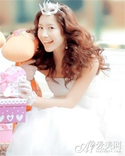 甜美新娘发型图片 缔造最幸福造型