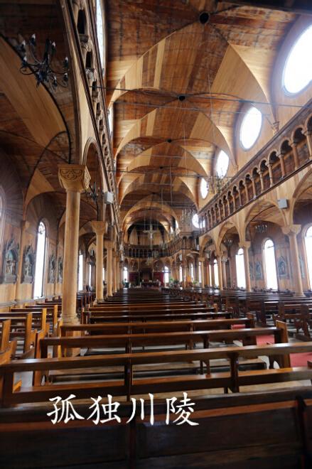 苏里南:世界上最大的木结构教堂(图)