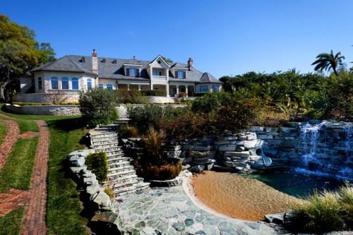 房子别墅图片带泳池