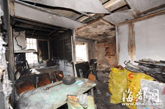 福州盛天现代城小区消防栓没水 新居被烧毁|小