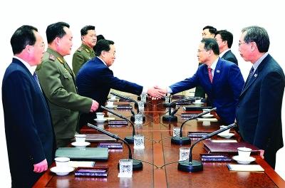 朝韩举行高层会谈