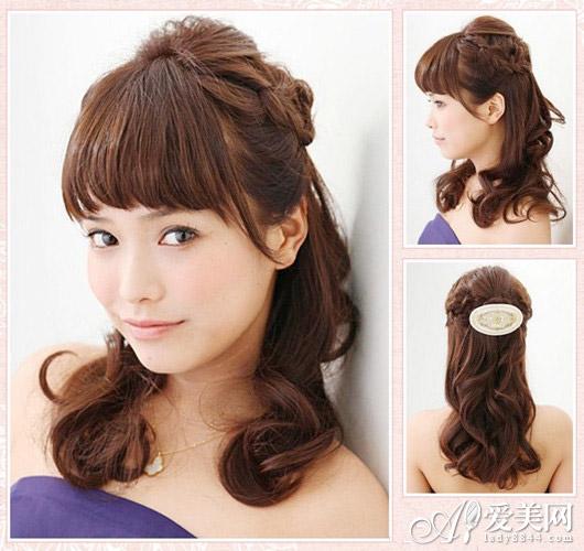 头发好容易干燥凌乱,尤其是长发mm,打理不好很容易一团糟,爱美网小编