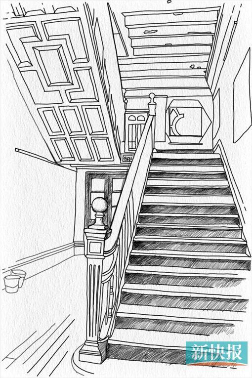 一楼大厅通往二楼的木制楼梯,扶手和楼梯底部都有精致的雕刻。 现在文物法和物权法存在冲突, 文物法要求我们去保护文物建筑。但物权法则规定业主有权决定文物的使用范围以及如何修理,这让文物保护工作很难去实施。 海珠区文物博物管理中心 刘副主任 十七十八世纪的广州极尽繁华,珠江之上,帆船林立,满载茶叶、瓷器的商船从这里源源不断开往世界各地。偌大的中国只开了广州这么一扇窗口,垄断外贸让一批广州商人迅速崛起,并积累大量的财富。作为当时最大的外贸公司同文行,潘启家族的主要人物在广州一口通商八