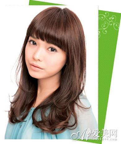 日系最新中长发发型图片