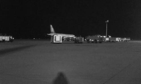 吉祥航空一航班备降济南|飞机|备降