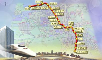 乌鲁木齐地铁一号线预计4月中旬开工