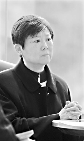 14日,李小林接受本报记者专访   记者刘斌 摄