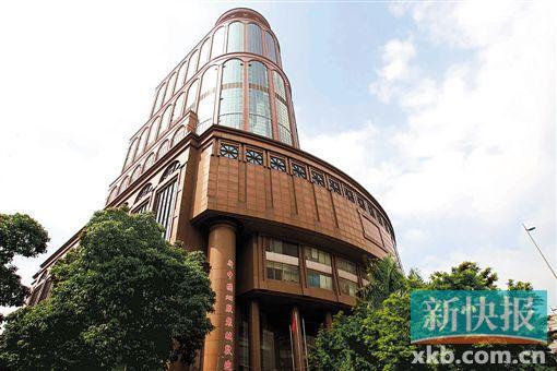 新中国大厦外观 资料图 宁彪