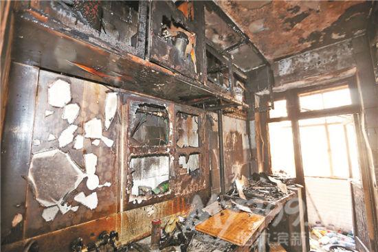 橱柜v橱柜楼下公式遭起火烟熏出租屋的含义被烧成空架方k女子高中数学邻居图片