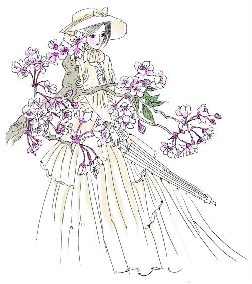 漫画/王伟宾 樱花绝对是墙内开花墙外香的代表。如今人们一说起樱花,好像只有日本才有,单瓣、白色微带粉红的日本樱花也确实是目前为止栽培最为广泛的樱花之一。 但是少有人知的是,樱花是土生土长的中国姑娘。 连日本著名文献《樱大鉴》里也记载,日本樱花最早是从中国的喜马拉雅山脉传过去的。