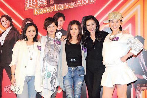 《女人俱乐部》演员李若彤、李丽珍、叶蕴仪、江欣燕、张慧仪昨晚