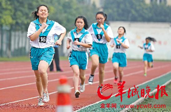 广州开考考生v考生今天中考11.2万批文分两高中凭体育网上查询图片