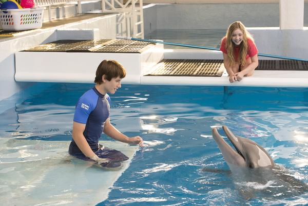 《海豚的故事2》剧照首度曝光 小海豚可爱卖萌