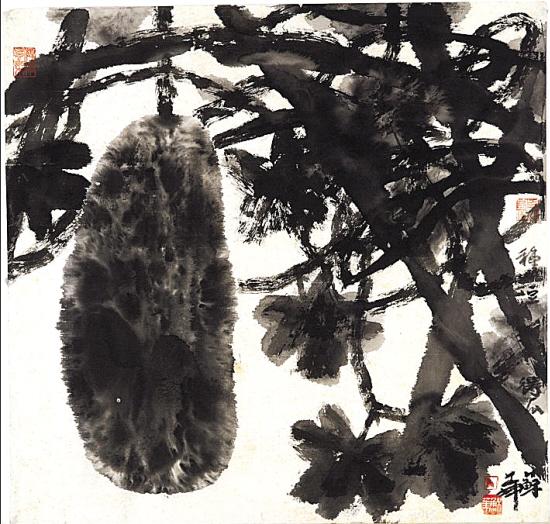 1981年作 70cmx45cm 艺术家 文/羊城晚报记者 刘朝霞 实习生 张玉婷