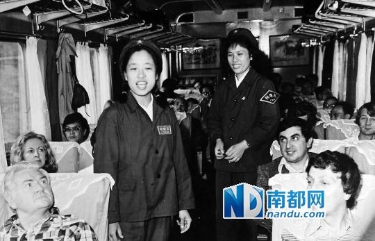 早年广九直通车乘客以港澳同胞、外宾居多。
