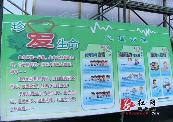 滚动新闻  原标题:靖州县中小学幼儿园生命教育主题实践活动举行启动