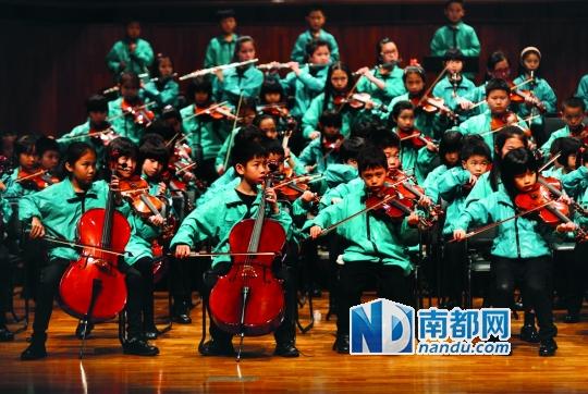 番禺执信的小学生们在星海举行小学人教|学语文年级音乐知识点版二专场图片