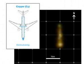 澳洲一勘探公司发布的MH370可能线索图