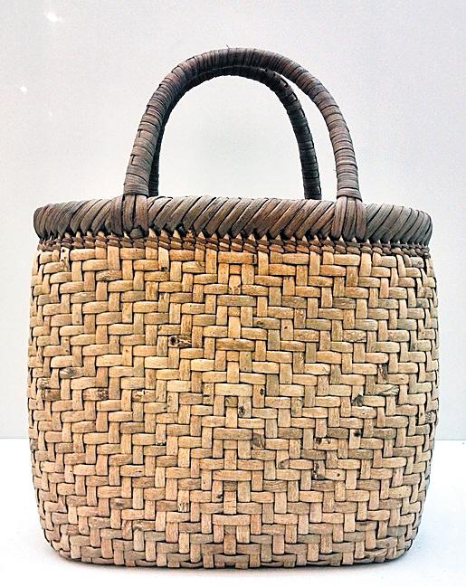 手提竹篮编织步骤图解