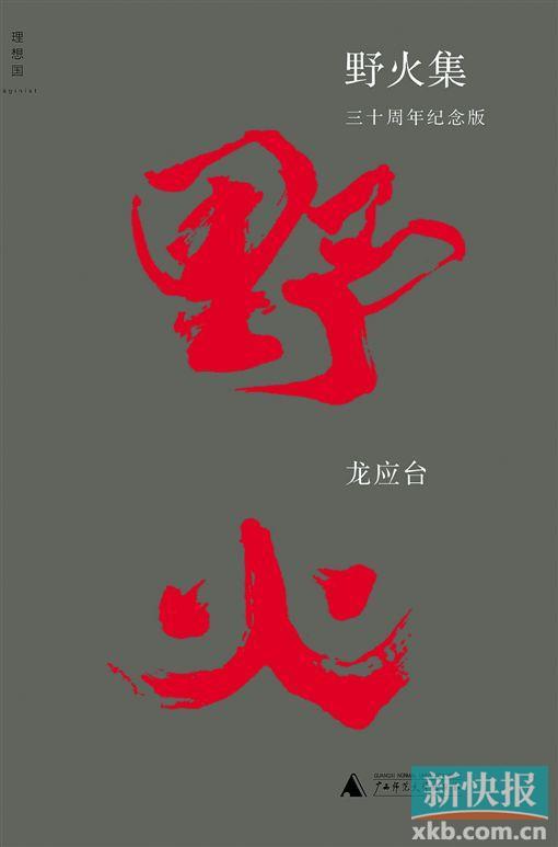 《野火集》 龙应台著 广西师范大学出版社