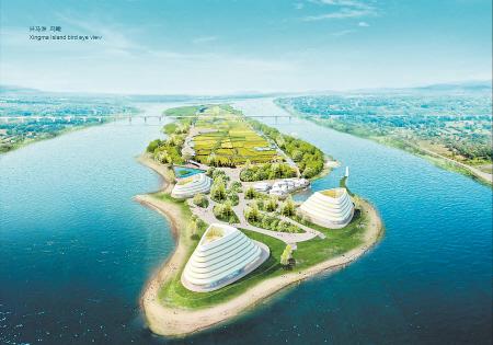 长沙湘江洲岛概念性规划五个设计方案亮相