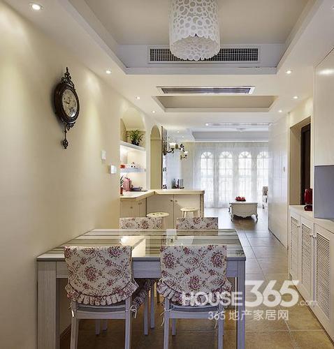 两室一厅60平米欧式美家图片